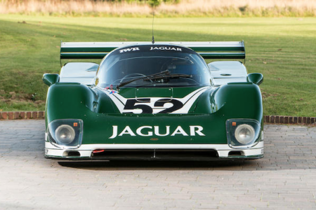 The 1985 Jaguar XJR6 which will cross the block at the Bonhams Bond Street Sale. (Bonhams)