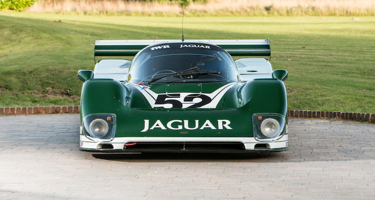 The 1985 Jaguar XJR6 which will cross the block at the Bonhams Bond Street Sale. (Bonhams)