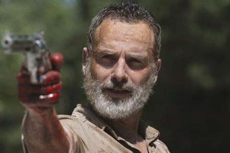 """Andrew Lincoln stars as Rick Grimes on """"The Walking Dead."""" AMC NETWORKS"""
