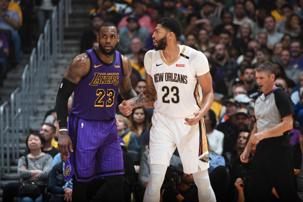 Nba Legend Tells Anthony Davis To Ditch Pelicans To Join