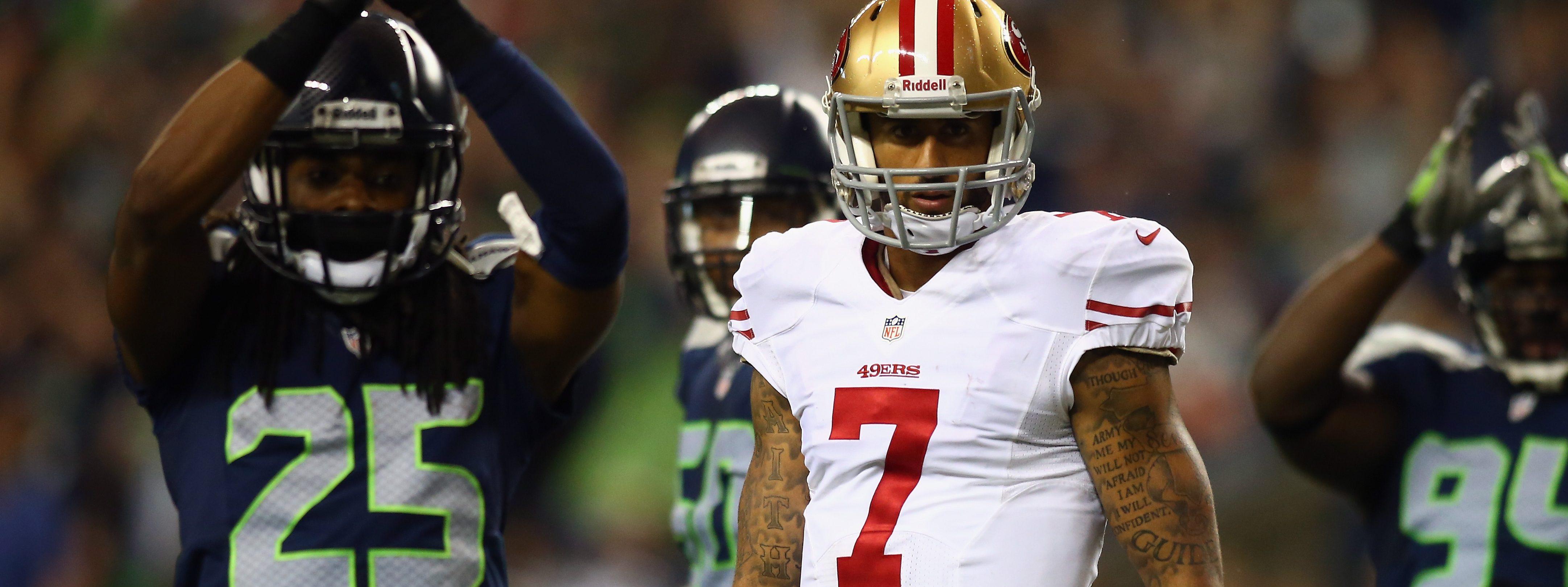ea92ebf7 Richard Sherman: Redskins QB Mess Proves Teams