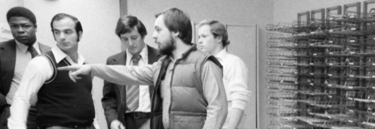 Lufthansa Heist robbery at JFK Airport. Employee shows FBI men where he and others were tied during robbery. (Photo By: Nick Sorrentino/NY Daily News via Getty Images)
