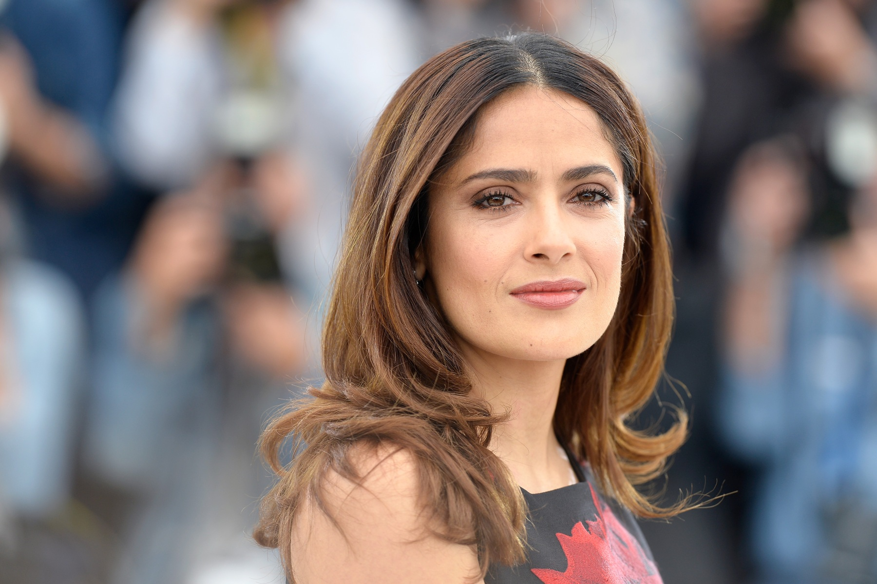 "CANNES, FRANCE - MAY 14:  Actress Salma Hayek attends a photocall for ""Il Racconto Dei Racconti"" (""Tale of Tales"") during the 68th annual Cannes Film Festival on May 14, 2015 in Cannes, France.  (Getty Images)"