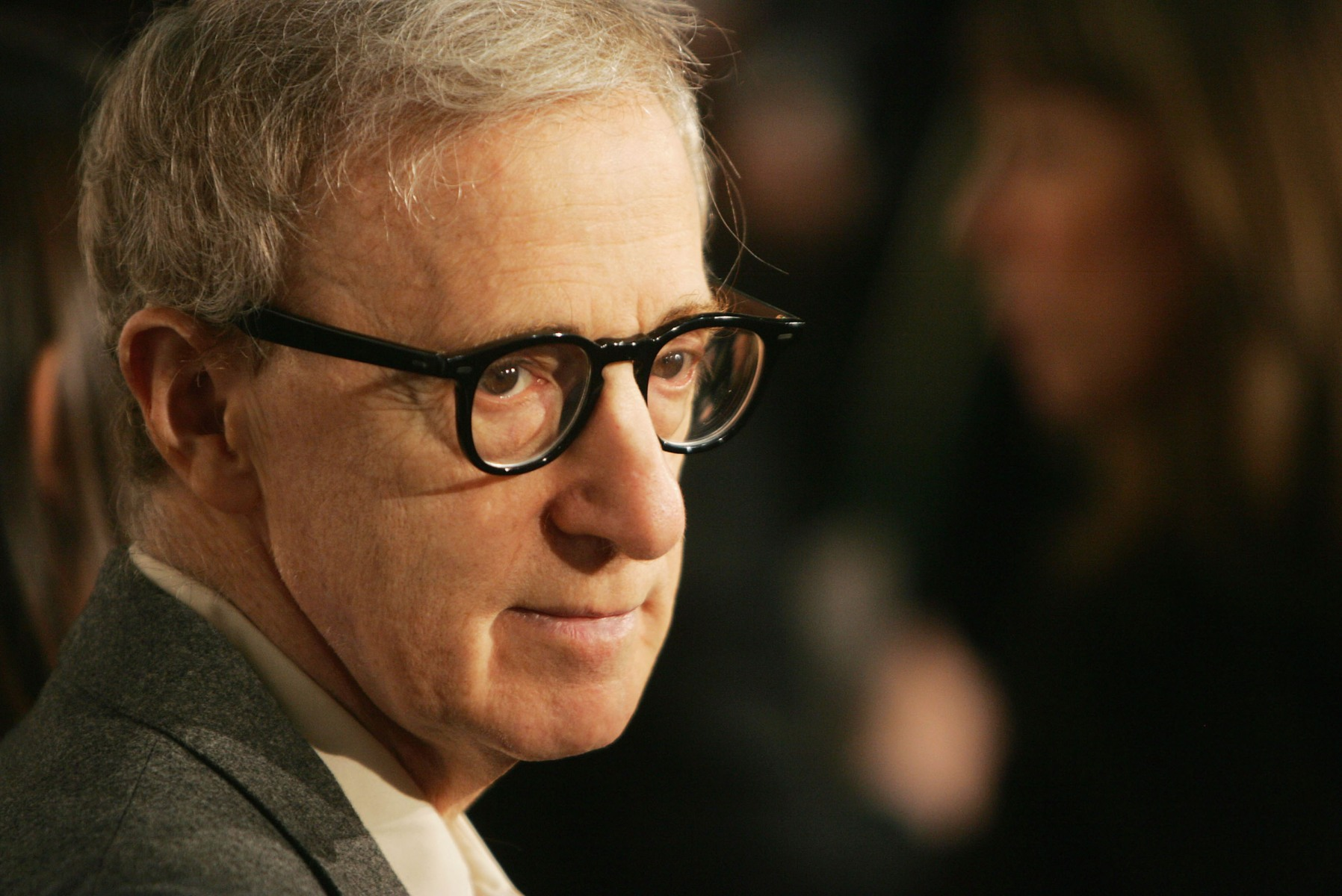 Woody Allen at a film premiere in 2005 (Photo by Kevin Winter/Getty Images)