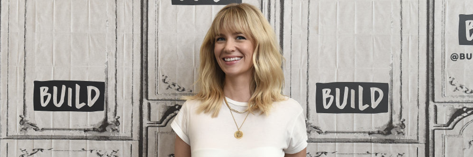 NEW YORK, NY - APRIL 12: Actress January Jones visits Build Series to discuss the FOX comedy 'The Last Man On Earth at Build Studio on April 12, 2018 in New York City. (Photo by Ilya S. Savenok/Getty Images)