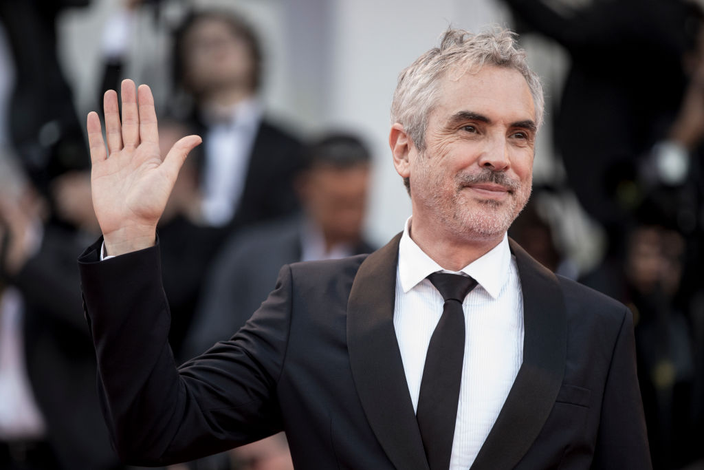VENICE, ITALY - AUGUST 30: Alfonso Cuaron walks the red carpet ahead of the 'Roma' screening during the 75th Venice Film Festival at Sala Grande on August 30, 2018 in Venice, Italy. (Getty Images)