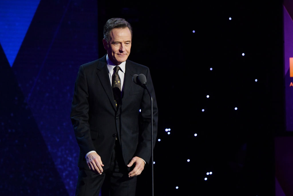 NEW YORK, NY - DECEMBER 09:  Bryan Cranston presents an award onstage during the 12th Annual CNN Heroes: An All-Star Tribute  at American Museum of Natural History on December 9, 2018 in New York City.  (Photo by Mike Coppola/Getty Images for CNN)