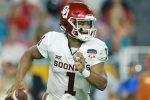 Kyler Murray #1 of the Oklahoma Sooners. (Photo by Michael Reaves/Getty Images)