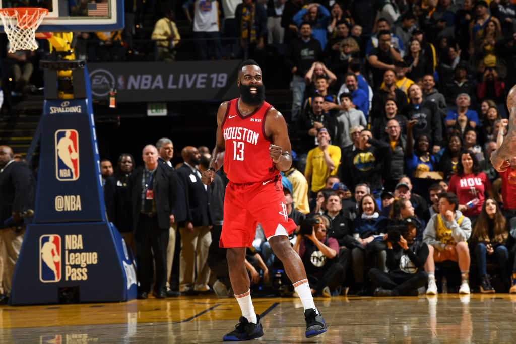 82c4f5a275225 James Harden Looks Like Best Offensive Player Ever in Win Over ...