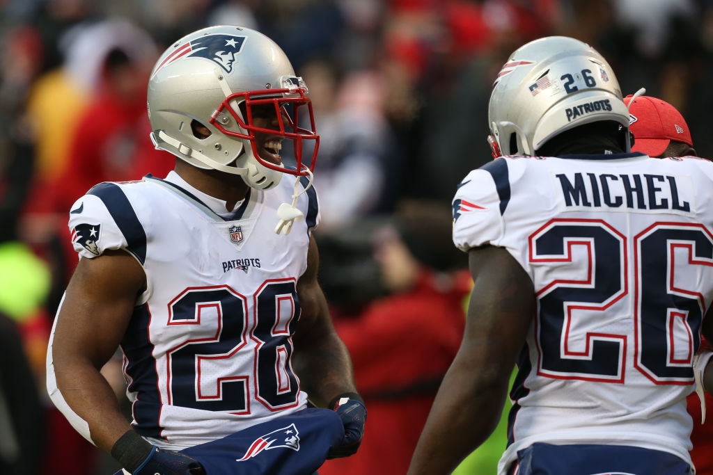 New England's Running Backs, Not Tom Brady, Leading Patriots in ...