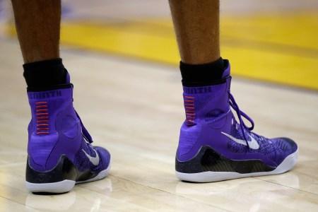NBA pedicure