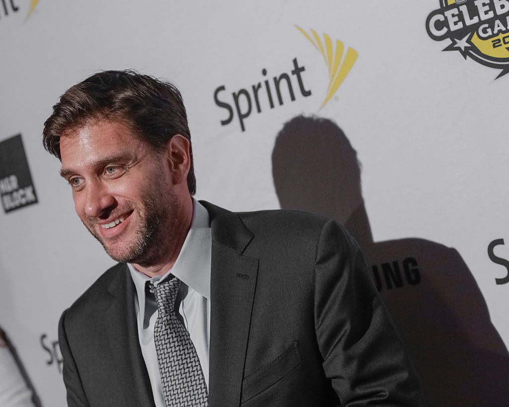 ESPN radio host Mike Greenberg arrives for the NBA All-Star Celebrity Basketball Game 2015 at Madison Square Garden on February 13, 2015 in New York City.  (Photo by Brent N. Clarke/FilmMagic)