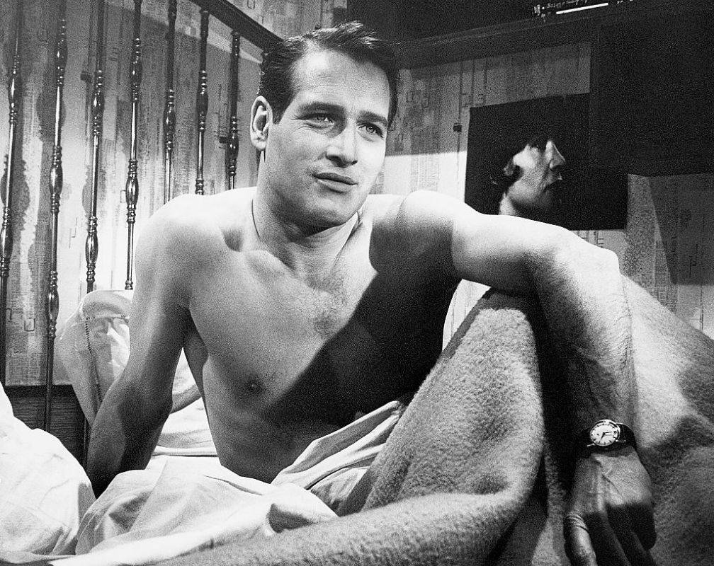 Portrait of actor, Paul Newman, circa 1950s.