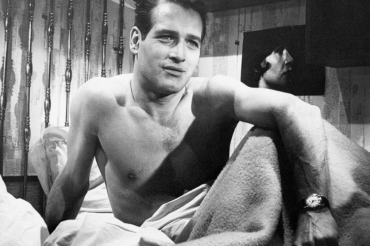 Portrait of actor, Paul Newman, circa 1950s.