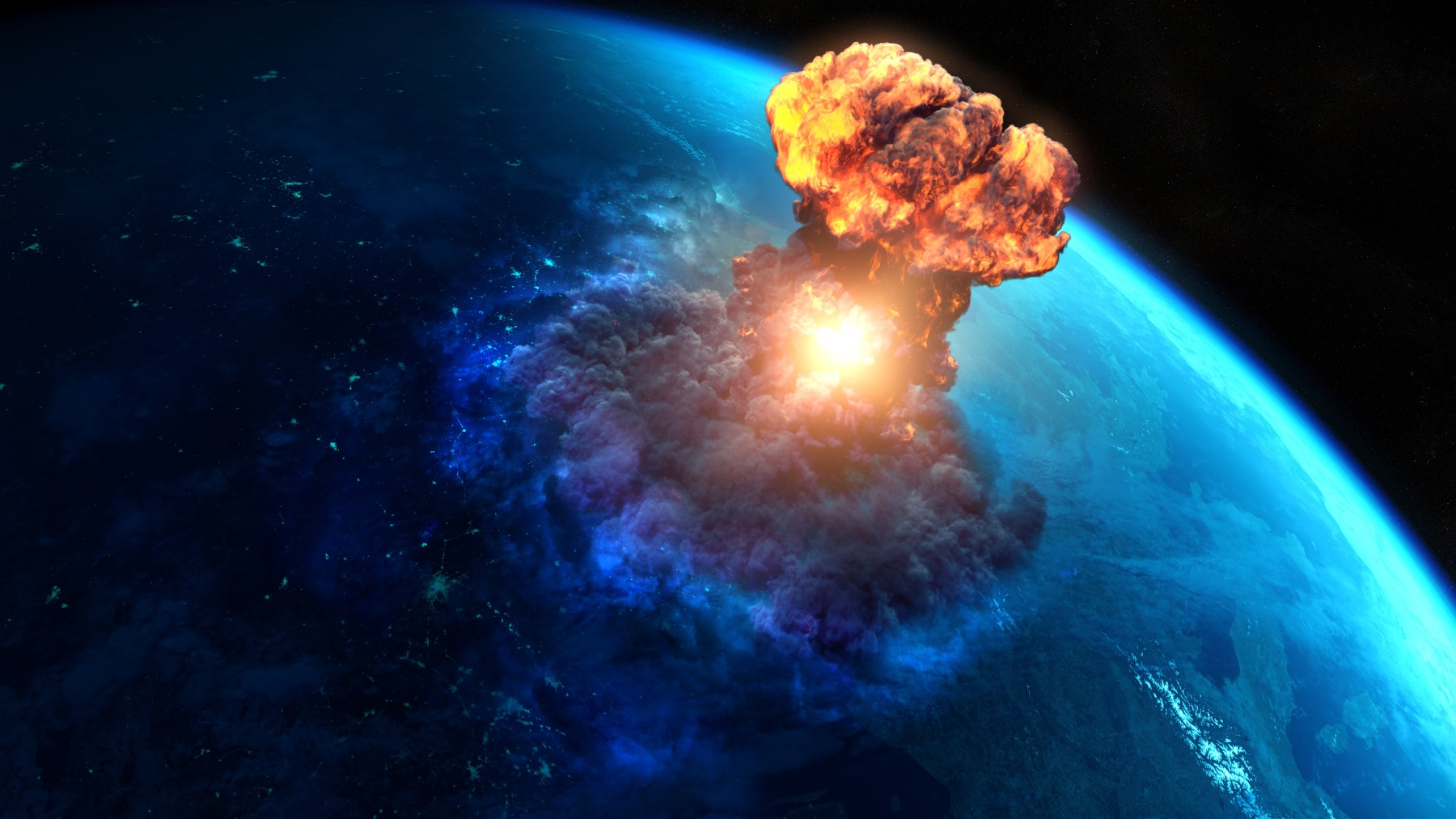 Asteroid That Wiped Out Dinosaurs Caused Mile-High Tsunami