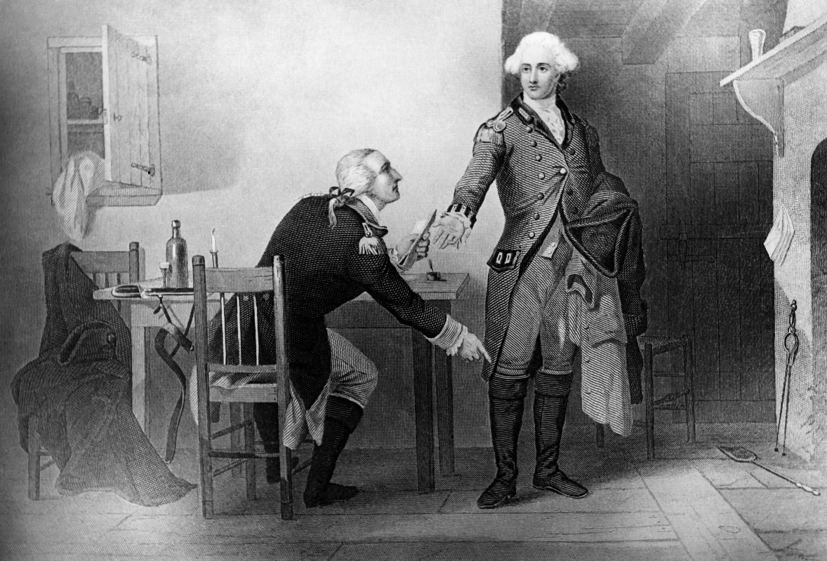 Benedict Arnold was a traitor