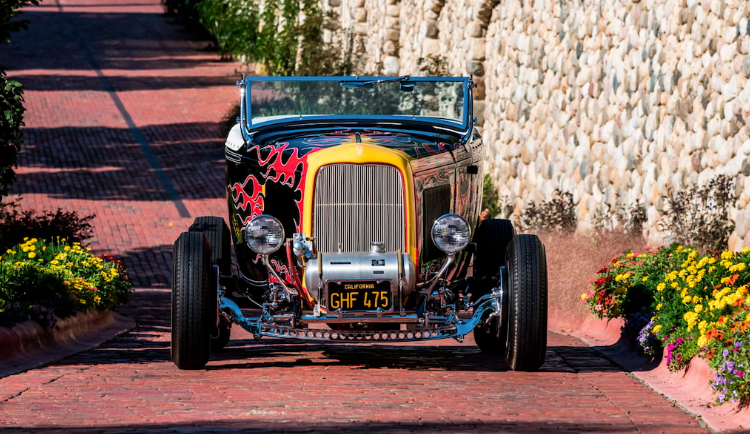 Tom McMullen's 1932 Ford Roadster is one of the most iconic Hot Rods in history. (Mecum)