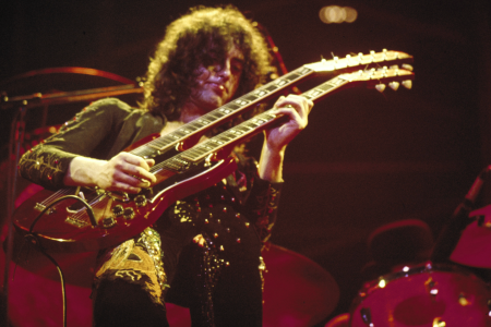 Led Zeppelin late 1970s Jimmy Page (Photo by Chris Walter/WireImage)