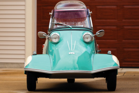 The 1959 Messerschmitt KR 200 which is being offered without reserve by RM Sotheby's at the 2019 Amelia Island auction.  (RM Sotheby's)