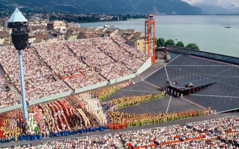Fête des Vignerons wine festival Switzerland