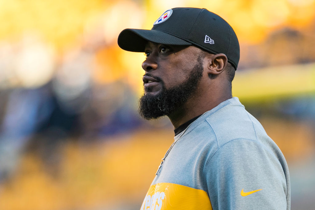 Pittsburgh Steelers head coach Mike Tomlin looks on during the NFL football game between the Cincinnati Bengals and the Pittsburgh Steelers on December 30, 2018 at Heinz Field in Pittsburgh, PA. (Photo by Mark Alberti/Icon Sportswire via Getty Images)