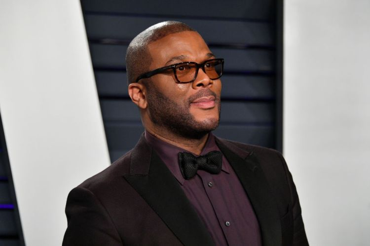 Tyler Perry at the 2019 Vanity Fair Oscar Party on February 24, 2019 in Beverly Hills, California.  (Getty Images)
