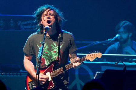 Ryan Adams performs on stage at Shepherds Bush Empire on September 19, 2014 in London, United Kingdom. (Photo by Joseph Okpako/Getty Images)