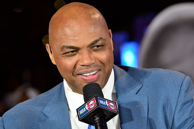 TNT NBA analyst Charles Barkley. (David Dow/NBAE via Getty Images)
