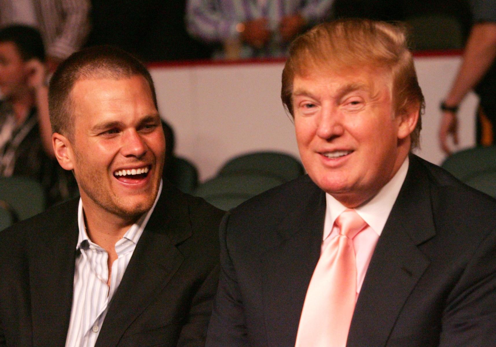 Brady patriots trump