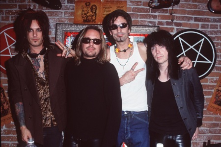 Motley Crue (Photo by SGranitz/WireImage)