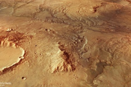 Mars ancient rivers