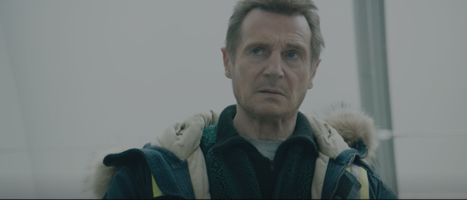 """Liam Neeson in a scene from """"Cold Pursuit"""" trailer. (""""Cold Pursuit"""")"""