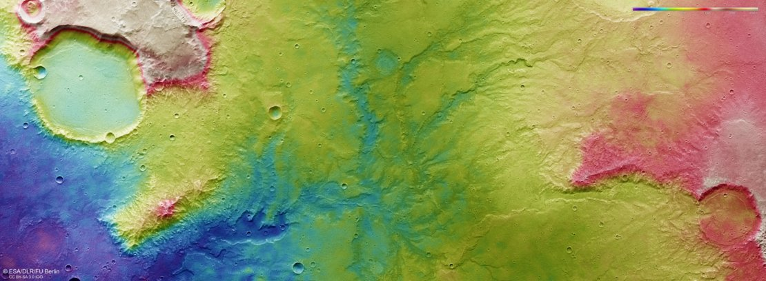 ESA ancient rivers mars
