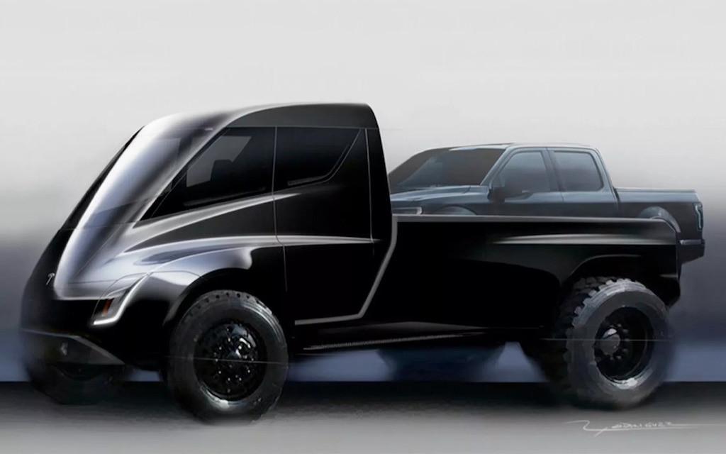 Tesla Unnamed Pickup Truck