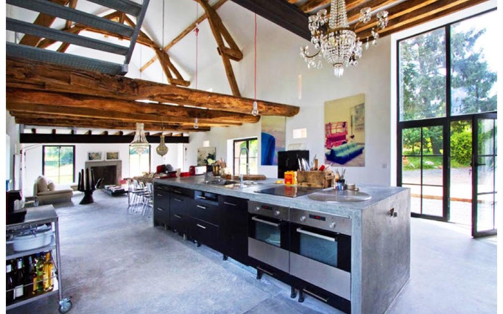 Converted Barn Homes Living - InsideHook