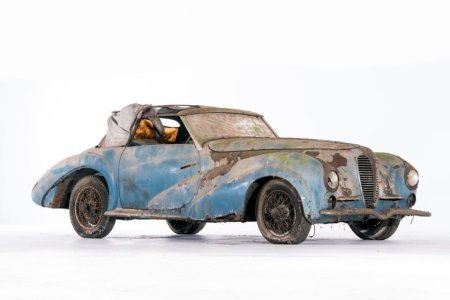 This Barn-Find Just Went Full Cinderella at Concours d'Elegance