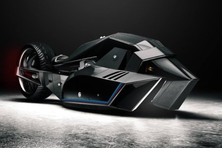 Someone Just Designed a BMW Motorcycle That Thinks It's a Shark
