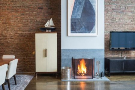 Five New-to-Market NYC Homes That Ace Fireplace Season