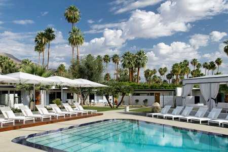 A sexy new hotel for languid desert days