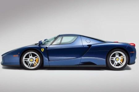 Damn Right, This Ferrari Enzo's Got the Blues