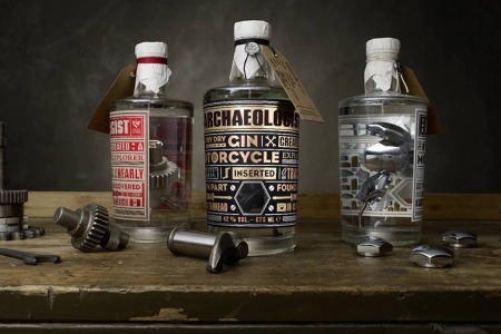 Real Thing: Gin Infused With Vintage Harley-Davidson Parts