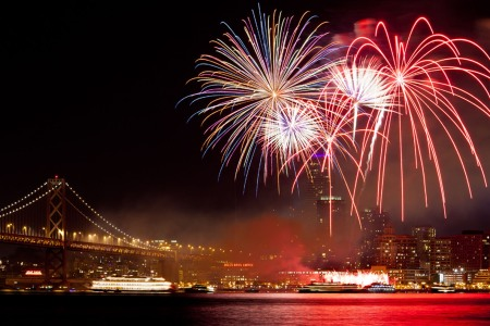 These Are the Best Places in SF to See the Fireworks