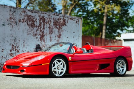 The Ferrari F50 Poster You Had as a Teen? That EXACT Car Is on Sale.