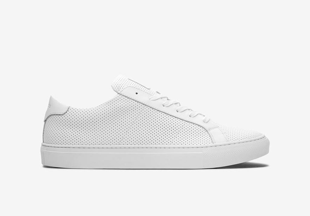 THE ROYALE PERFORATED Greats Cotton Freshen Up: Chivalry