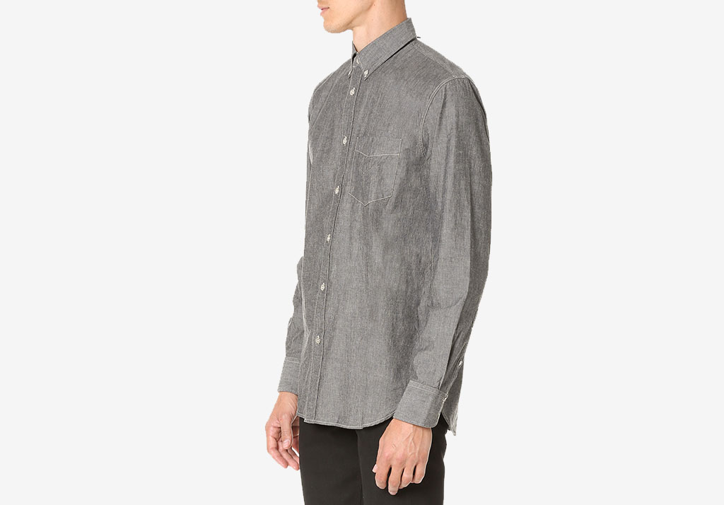 STANDARD ISSUE CHAMBRAY SHIRT Rag & Bone Standard Issue Cotton Freshen Up: Chivalry