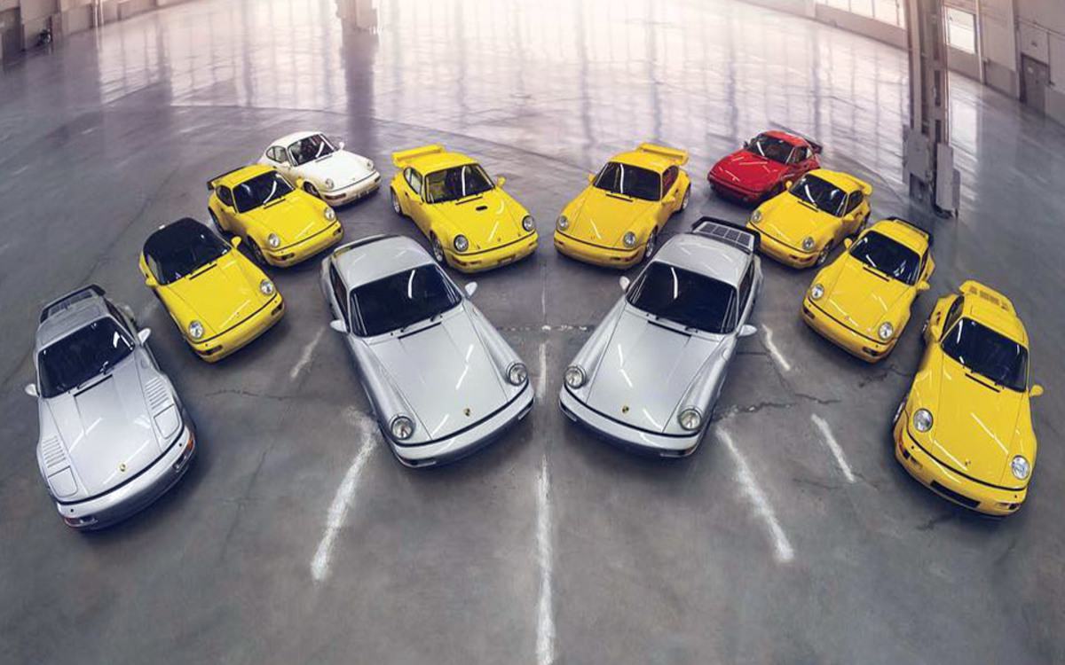 The Porschiest Collection of Porsches Ever Is Up for Auction
