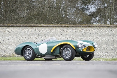 The Personal Racer of the Man Who Built Aston Martin Is Up for Sale