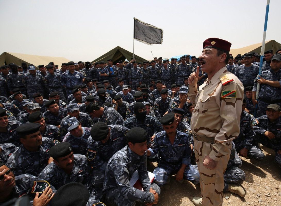 iraq major general Najim al-Jubouri