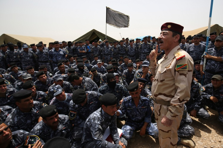 iraq major general Najim al-Jubouri