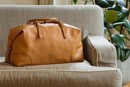 These Handsome Leather Bags Are Customizable, Affordable